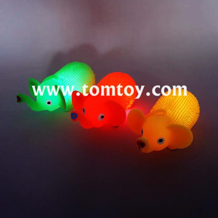 Squishy Ball With Light : LED Assorted Squeeze Squishy Balls-Tomtoy