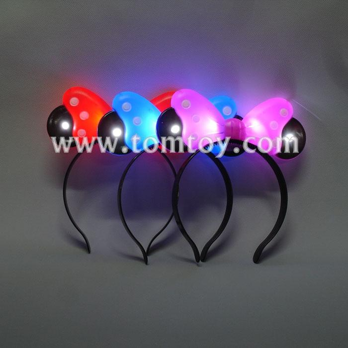 4 leds hair bow headband tm02711.jpg