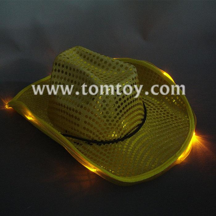 8 led golden cowboy hats tm00046.jpg