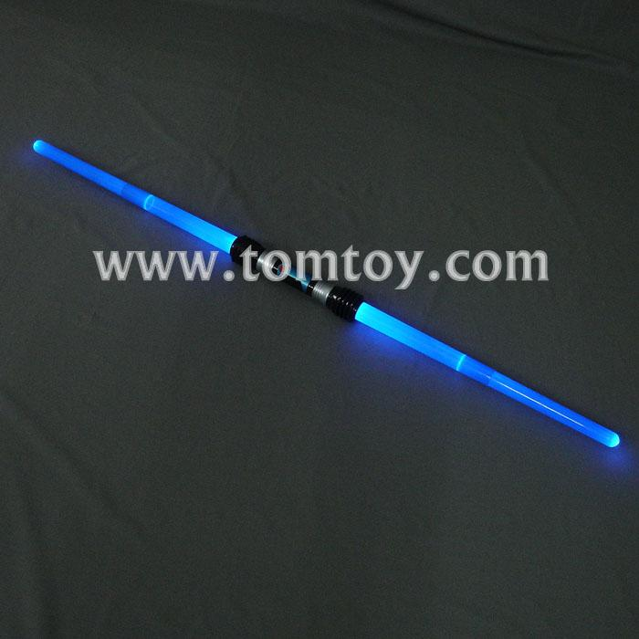 blue led extendable double sword tm012-064-bl.jpg