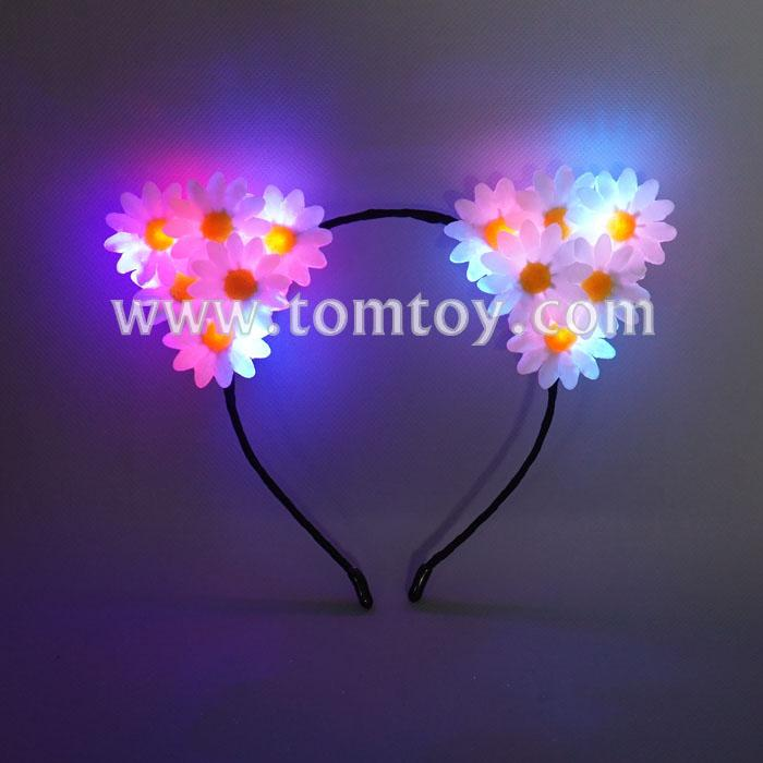 cat ears light up flower headband tm02553.jpg