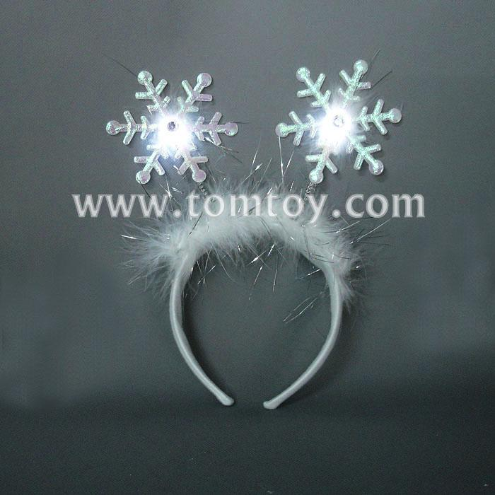 christmas led light up snow headband tm02165.jpg