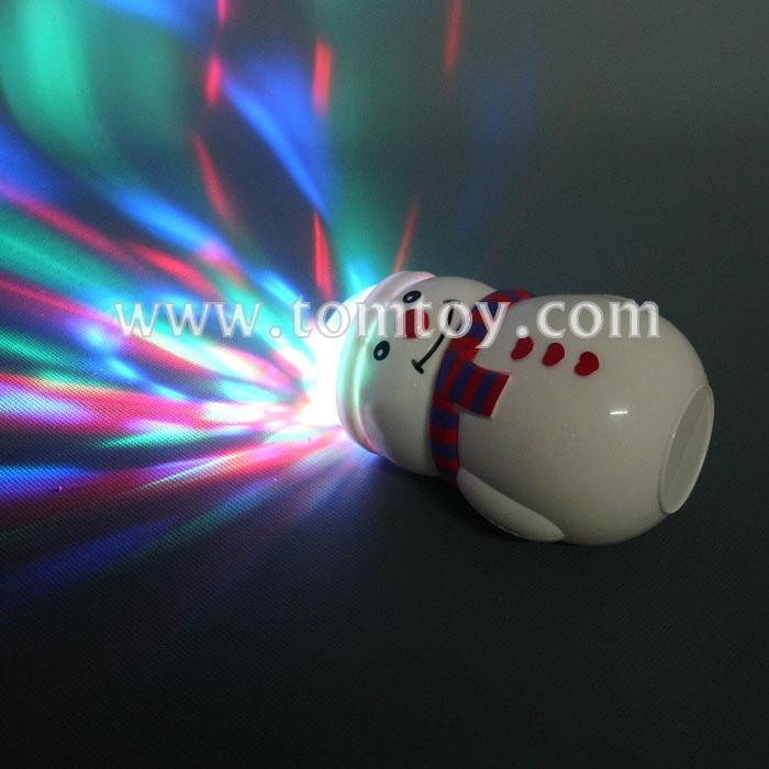 christmas led snowman spinning prism ball with music tm00794.jpg