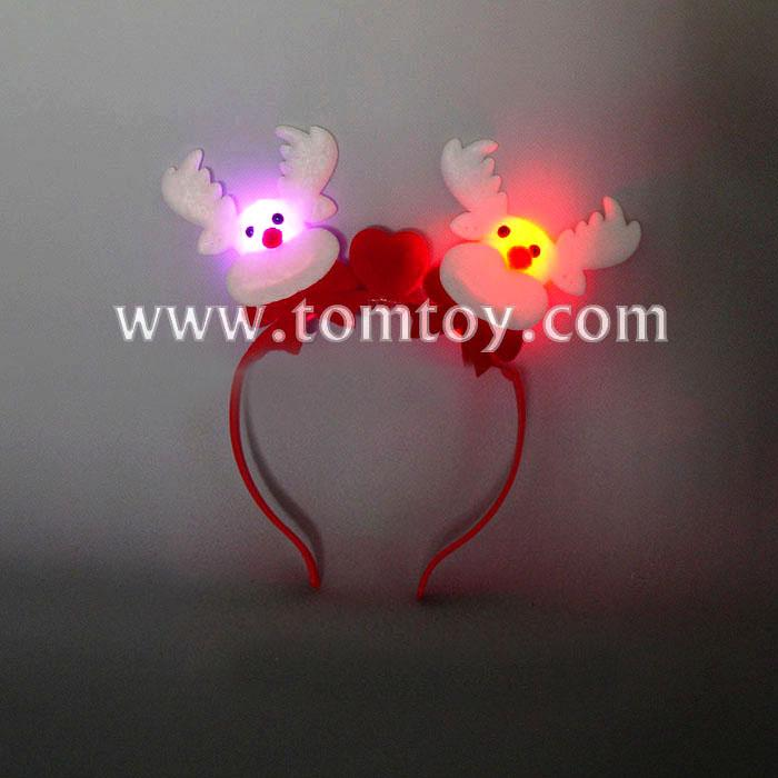 christmas reindeer antlers head band with ear holiday festival party head wear tm02759.jpg