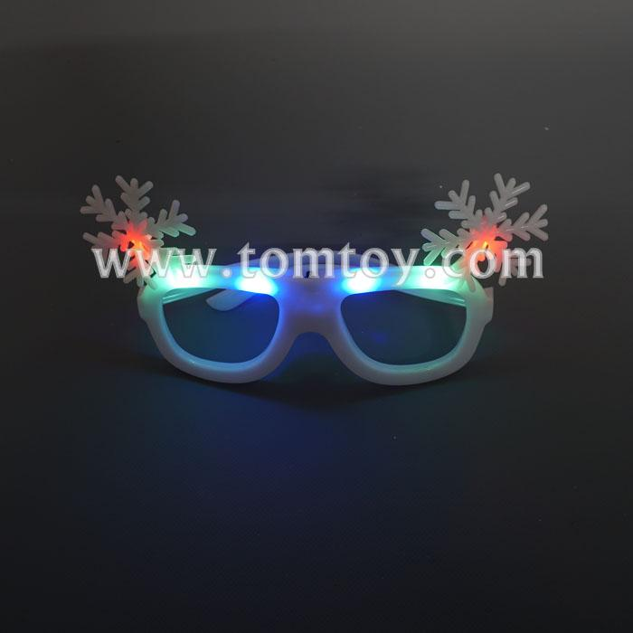 christmas snowflake led glasses tm04720.jpg