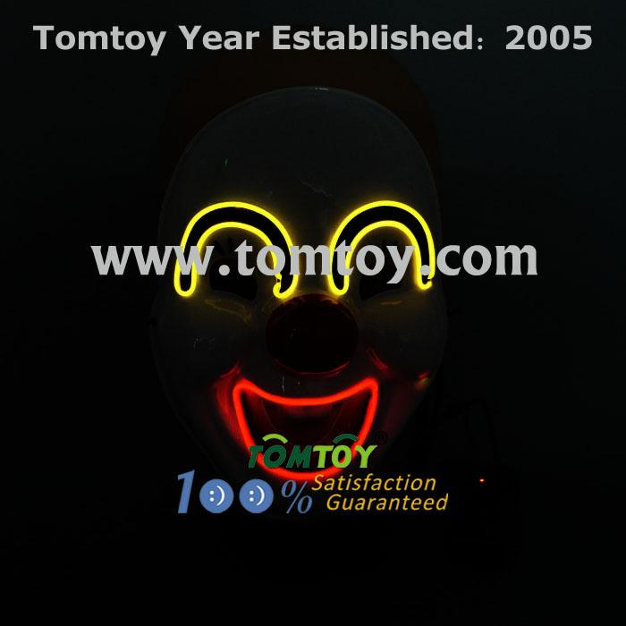 clown led el costume mask tm109-010.jpg