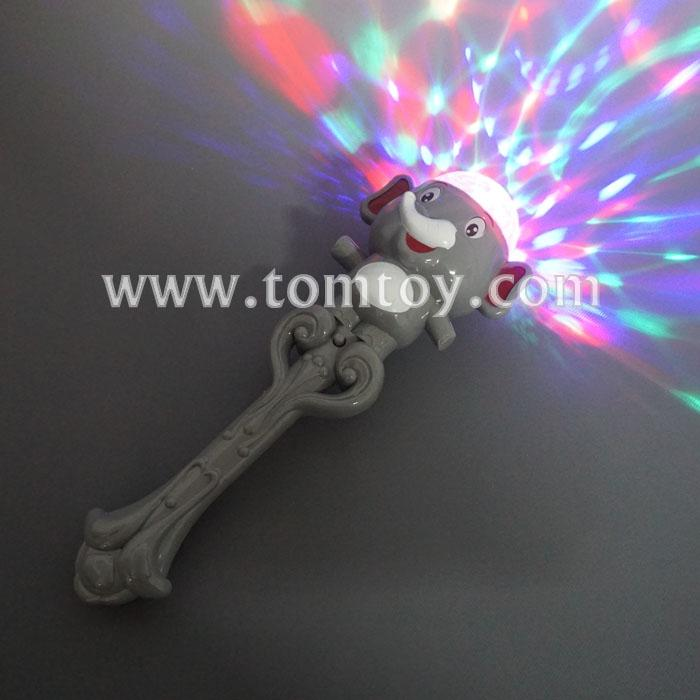 elephant wand with light disco ball tm280-001.jpg
