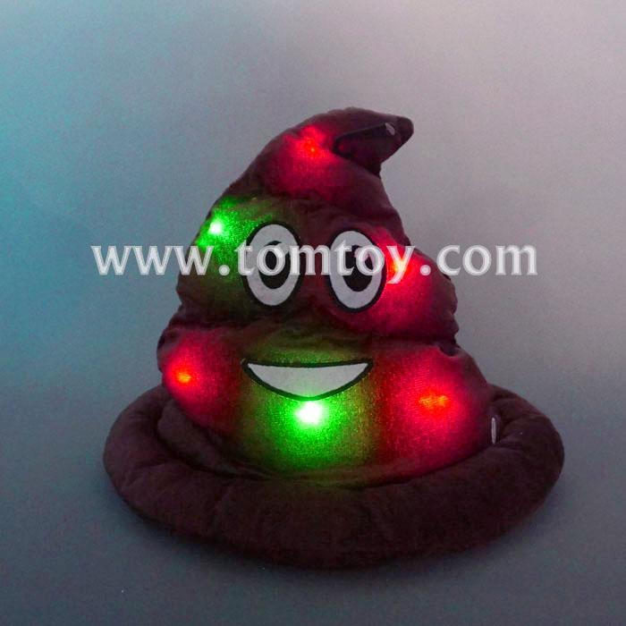 emoji light up poop emoji hat tm03205.jpg
