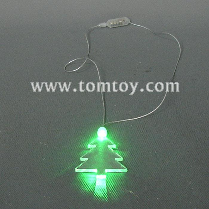 flashing christmas tree necklace tm000-066-christmas tree-gn.jpg