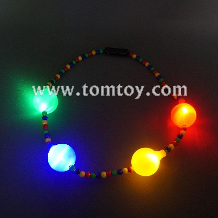 flashing colorful beads necklace tm041-104.jpg