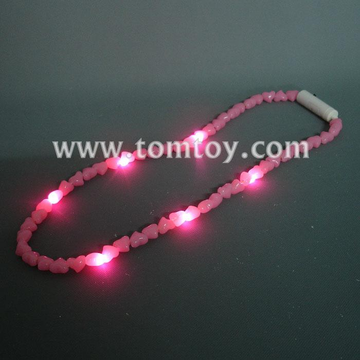 flashing heart-shaped led necklace tm00690.jpg