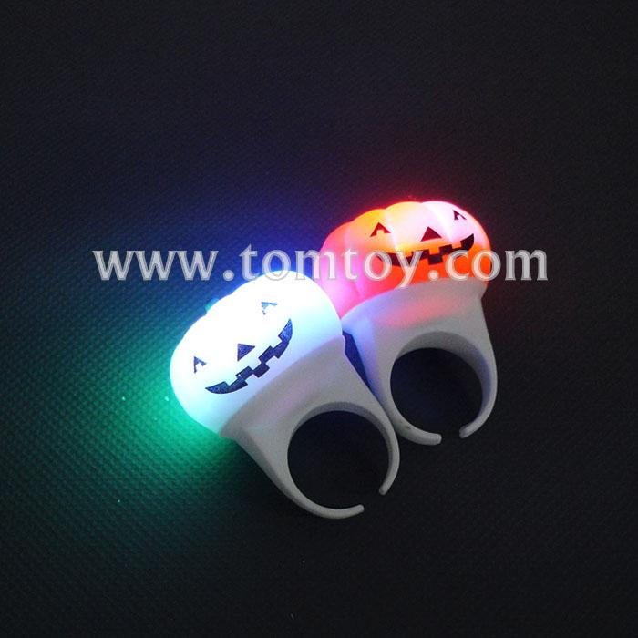 flashing led halloween pumpkin toy rings tm01195.jpg