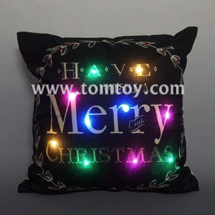 flashing merry christmas cushion tm03259.jpg