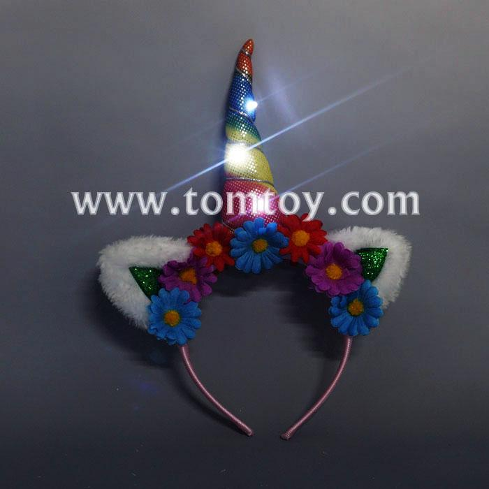flashing unicorn head bands tm03252.jpg