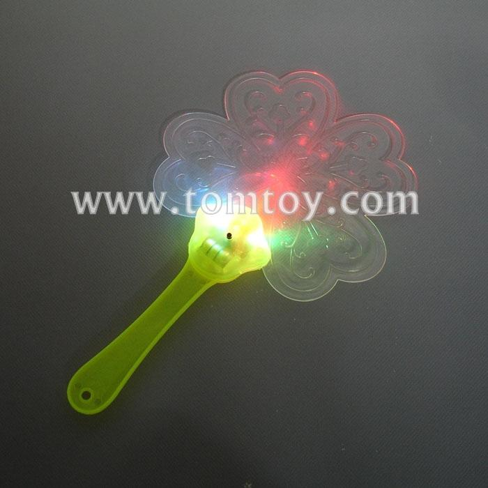 flower shape led hand fan tm02970.jpg