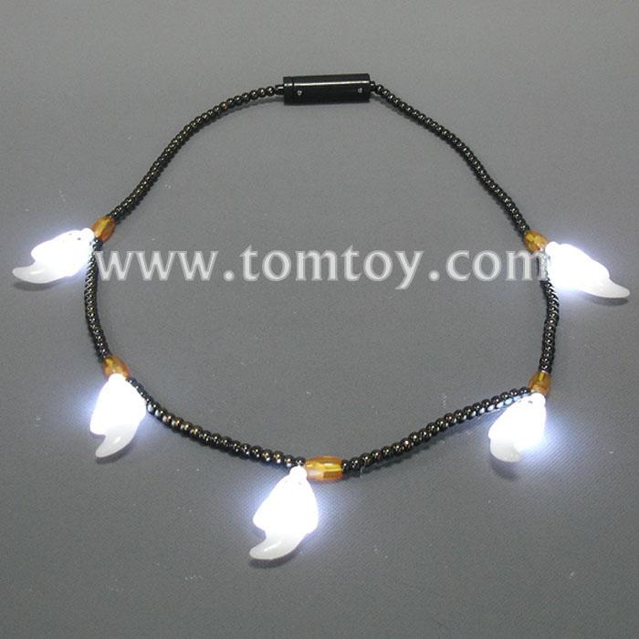 ghosts led bead necklace tm041-052.jpg