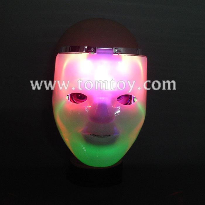 halloween costume flashing double-deck led mask tm00274.jpg