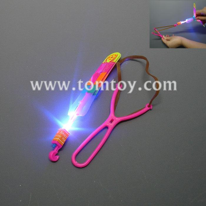 large ssize led light up glowing slingshot arrow rocket helicopter flying copters toy party fun gift tm02757.jpg