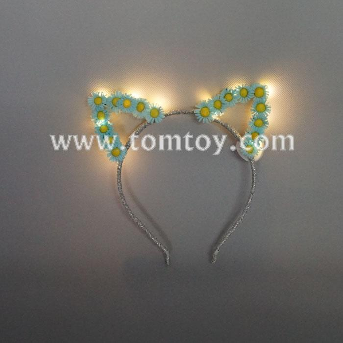 led cat ear daisy headband tm02670.jpg