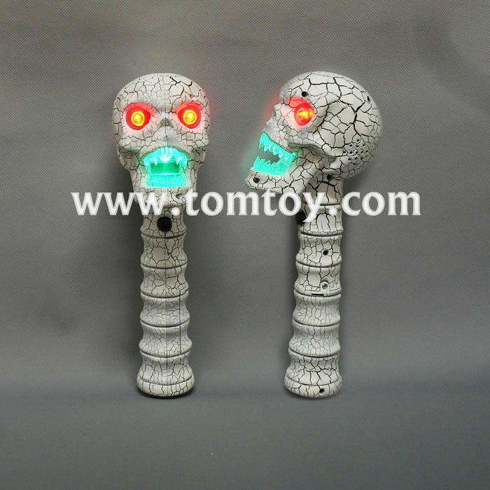 led crack skull head wand with sound tm02615.jpg