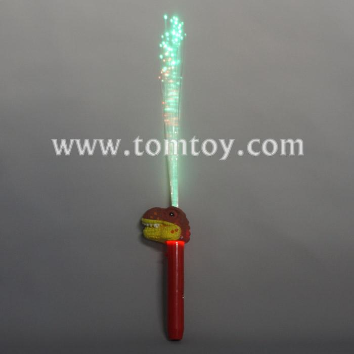 led dinosaur t-rex light up fiber optic wand tm04032.jpg