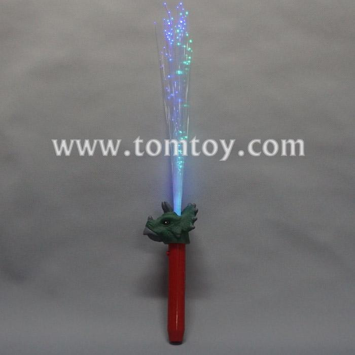 led dinosaur triceratops fiber optic wand tm04035.jpg