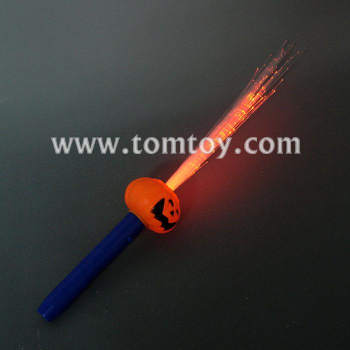 led fiber optic pumpkin stick wand tm013-053-pumpkin.jpg