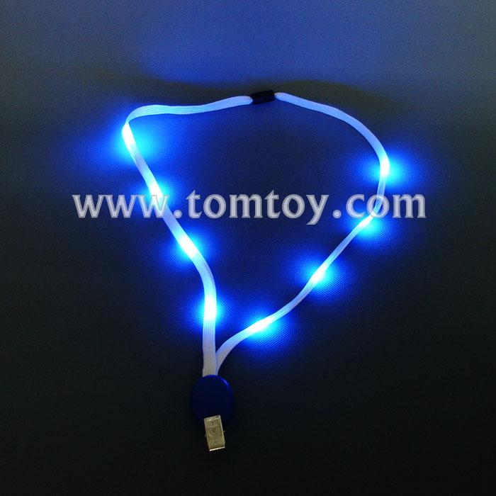 led flashing lanyard for employee's card tm01743.jpg