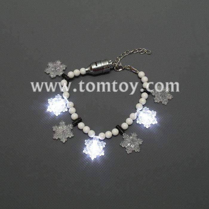 led flashing snowflake bracelet tm01100.jpg
