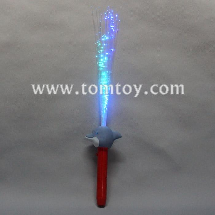 led light up dolphin fiber optic wand tm04034.jpg