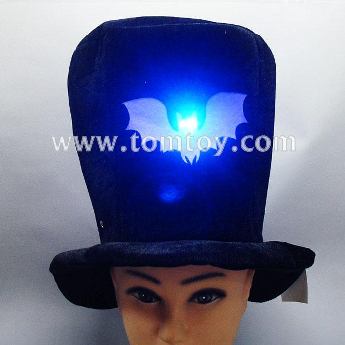 led light up extra tall top hat costume accessory tm02188.jpg