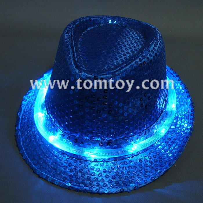 led light up fedora hats tm000-049-10bl.jpg