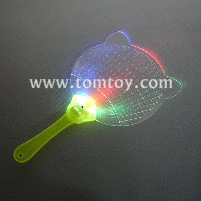 led light-up flashing multi-color flat hand fan tm02972.jpg