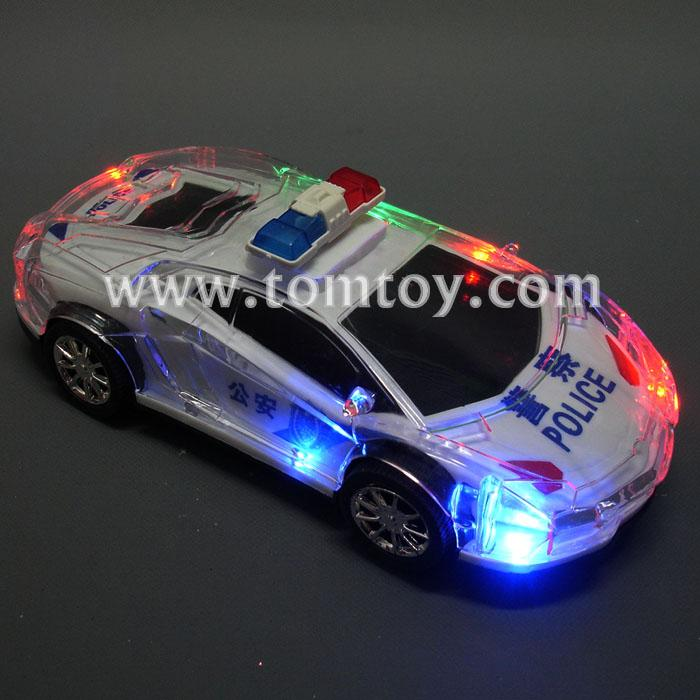 LED Light Up Police Car-Tomtoy