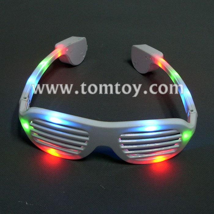 led light up shutter shaped glasses tm046-002-wt.jpg
