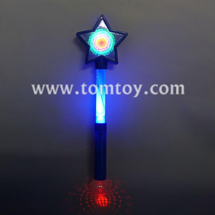 led light up star spinning wand tm03307-bl.jpg