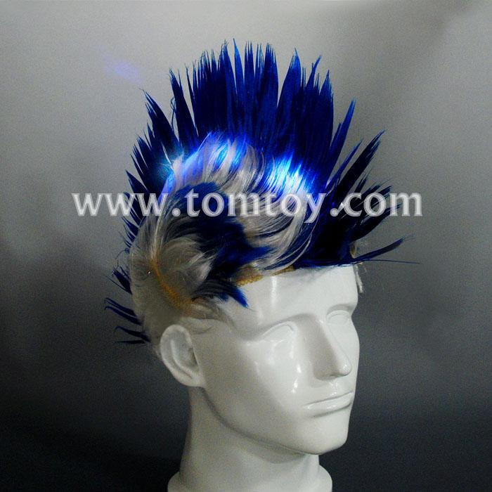 led light up tribal chief feather hat tm02190.jpg