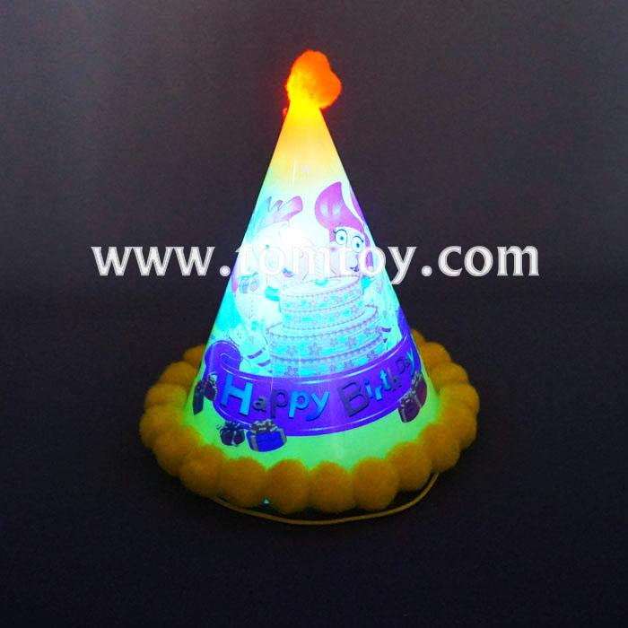 led plastic cone birthday party hats tm02957.jpg