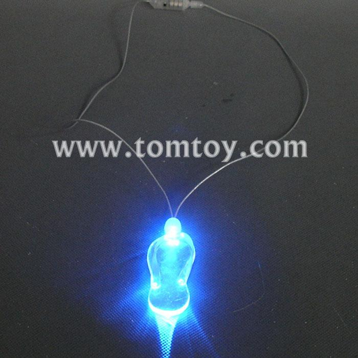 led sandal necklace tm000-066-sandal-bl.jpg