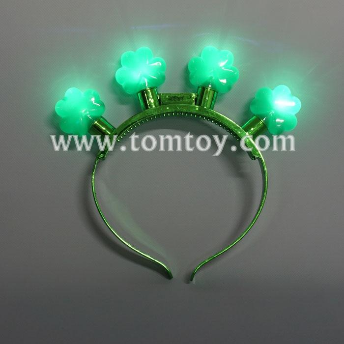 led shamrock headbands tm03551.jpg