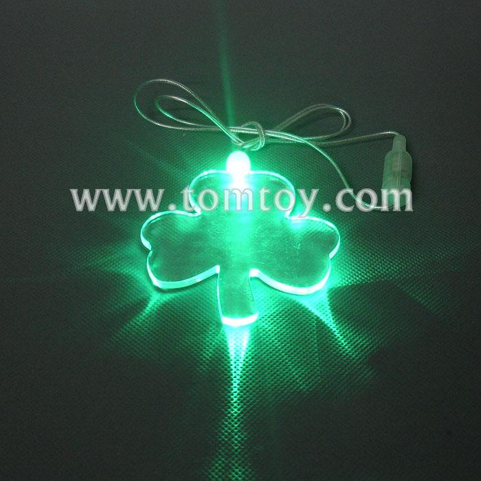led shamrock necklace tm00057-shamrock.jpg