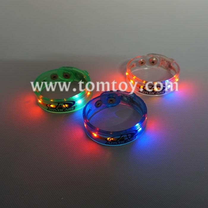 led slap band glow bracelet armband glow in the dark tm02817.jpg