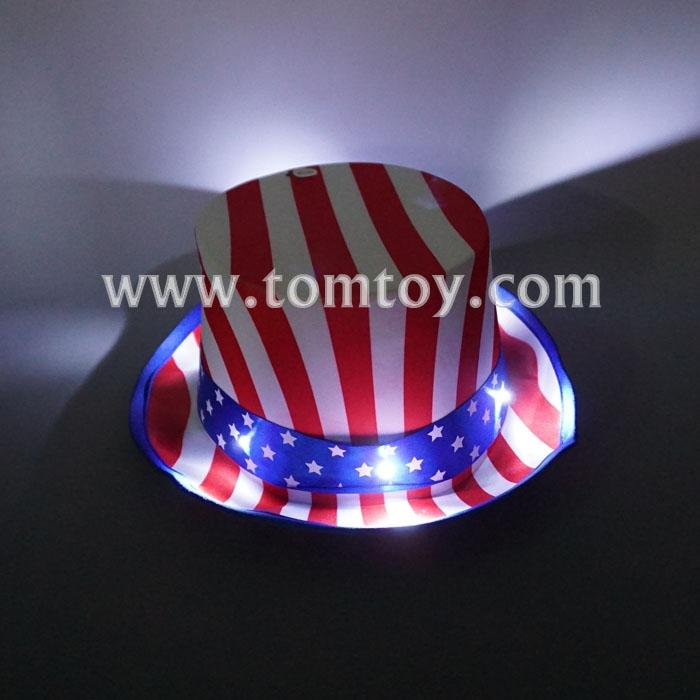led usa flag hat tm02699.jpg