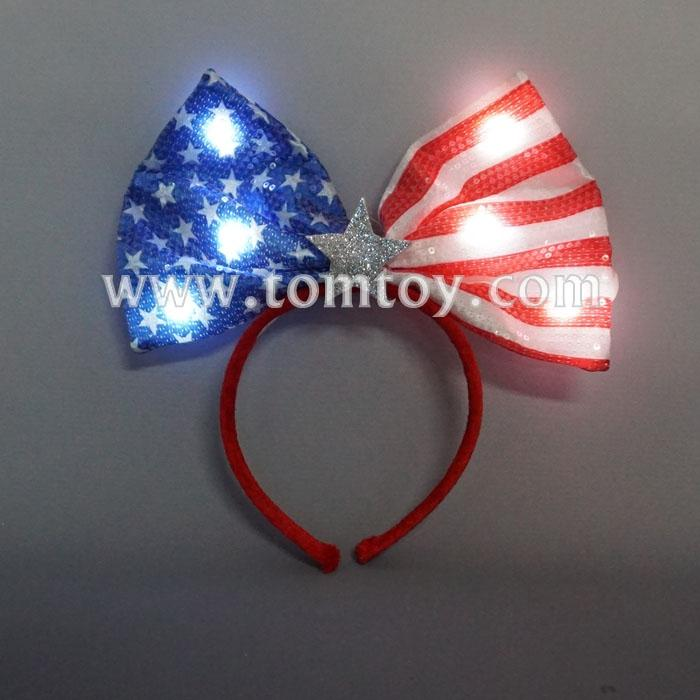 led usa flag headband tm04392.jpg
