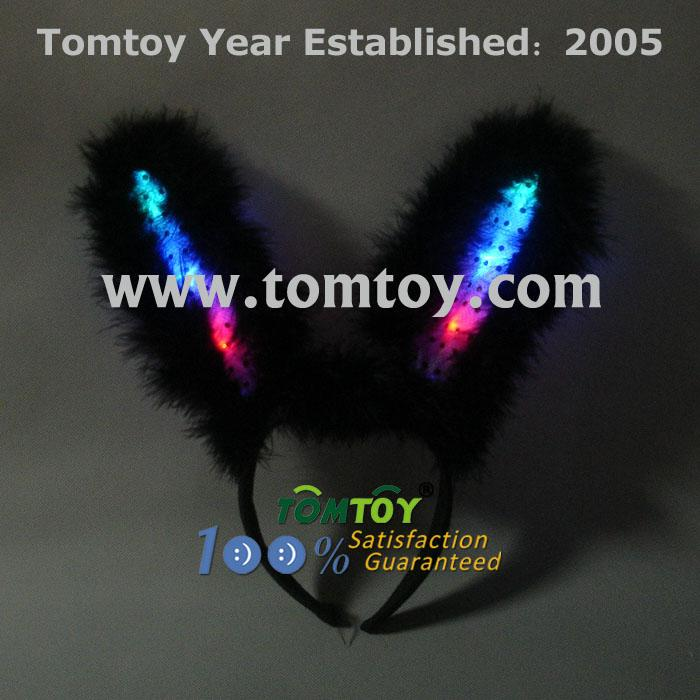 light rabbit bunny ear headband tm025-044-bk.jpg