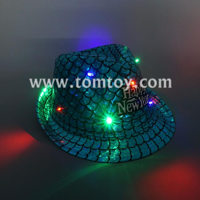 light up fedora hat tm03151.jpg