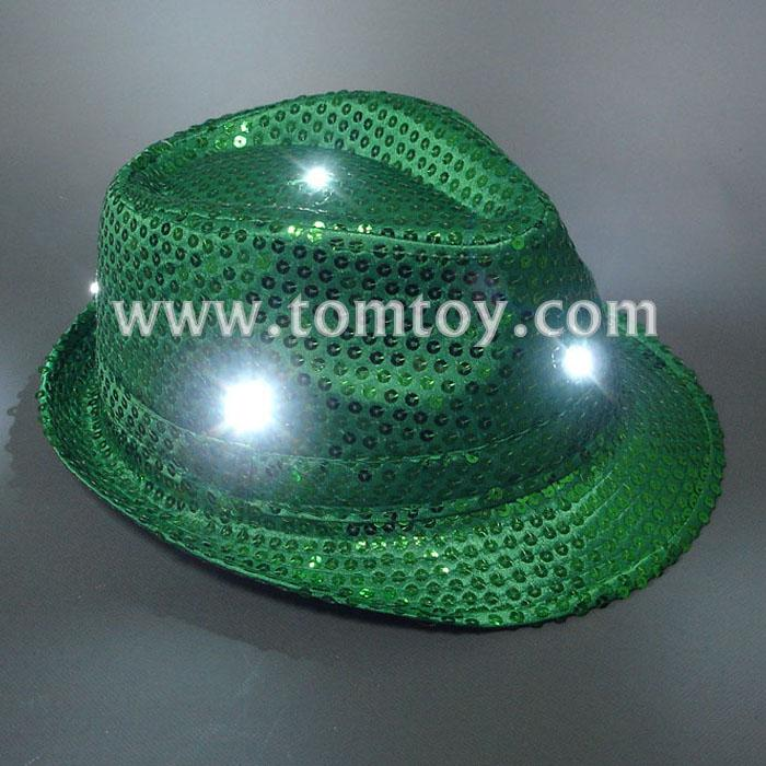 light up fedora hats tm000-051-gn.jpg