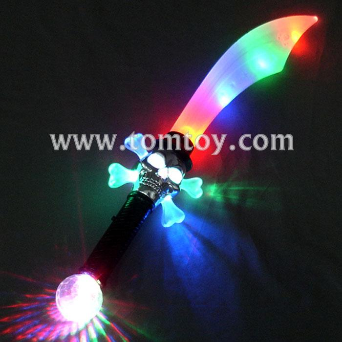 light up pirate skull saber sword tm00958.jpg