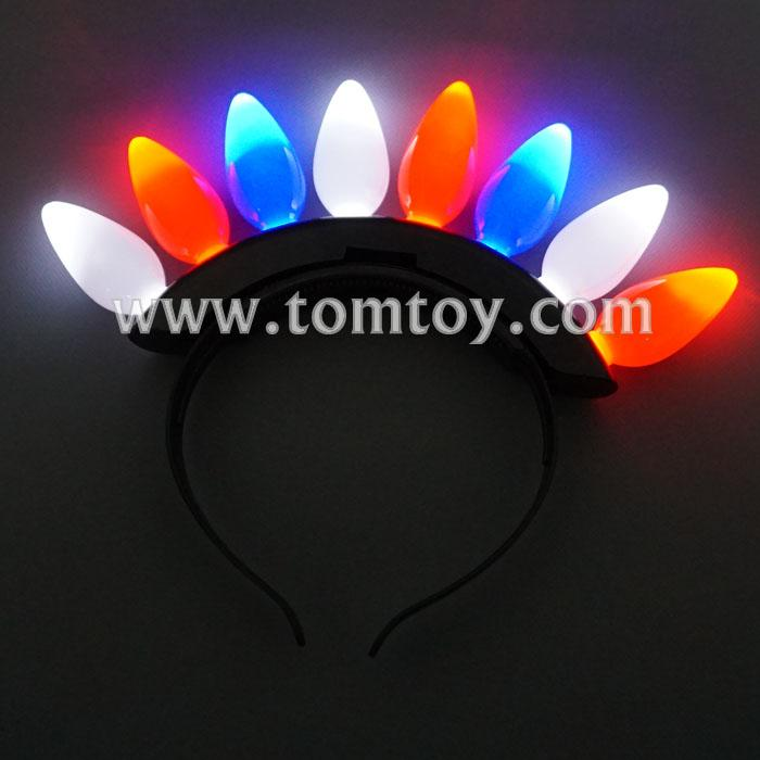 light up red-white-blue bulbs headband tm012-090-rwb.jpg