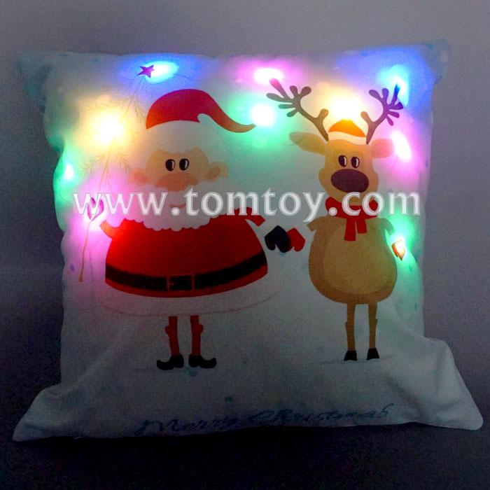 light up santa reindeer cushion tm03262.jpg